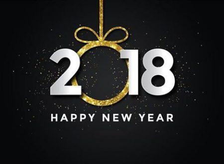 Auguri per un felice 2018